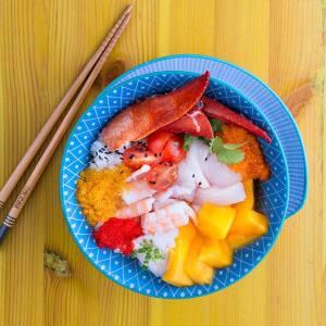 Foto piatto sushi brasiliano Copacabana 2 Beach2018