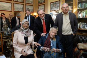 Franco Zeffirelli, Ministro Oman, Umberto Fanni, Pippo Zeffirelli