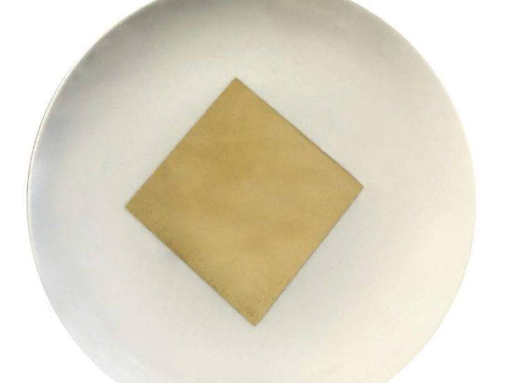3 piatto Ricette di Famiglia Richard Ginori Manetti Battiloro