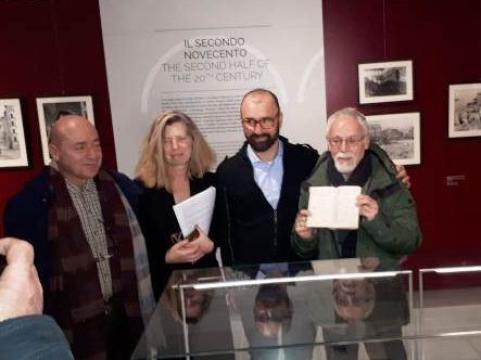 diario Frida Misul al Museo della Città