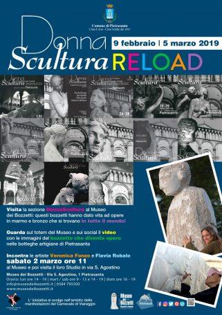 locandina donna scultura 2