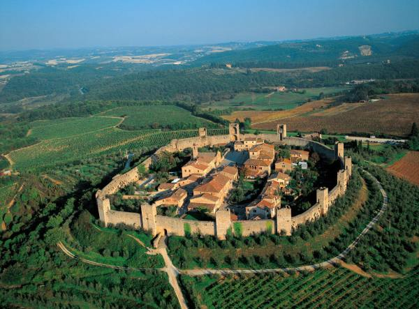Monteriggioni Italy Tuscany | Castle Things to Do & Visit
