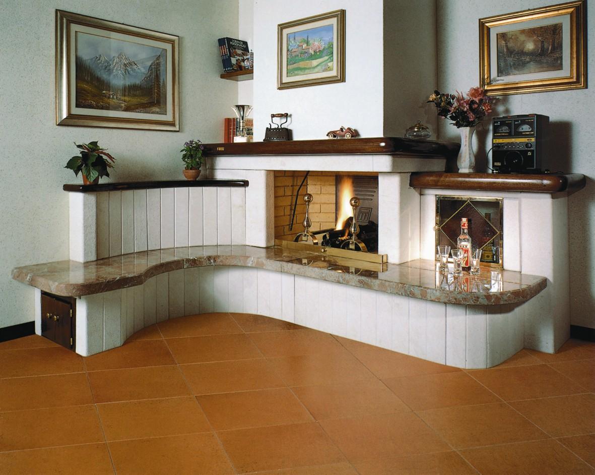 Caminetti arredamento  Caminetto moderno 546  Toscana Marmi