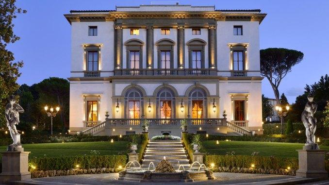 L'Hotel Villa Cora di Firenze dove, il 12 marzo, si terrà la cerimonia d'apertura del DUCO Travel Summit