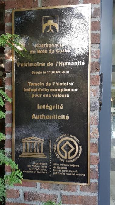 Museo della Miniera targa UNESCO Patrimonio dell'Umanità