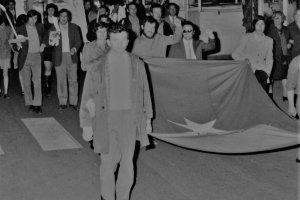Manifestazione contro la guerra nel Vietnam (Viareggio, 1970)
