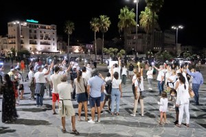 Flash Mob #giorgiorispondi, Viareggio 5 settembre 2020