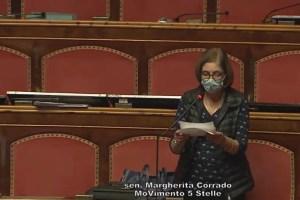 Margherita Corrado, senatrice 5Stelle