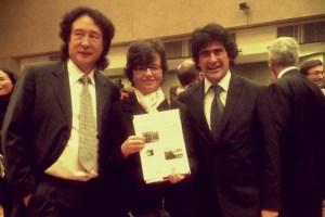 Il ministro Maria Chiara Carrozza Con Alberto Veronesi in Cina