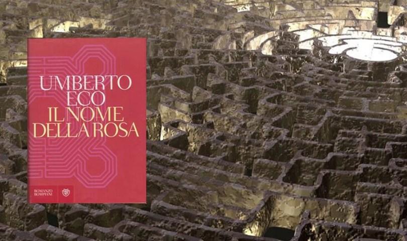 """Umberto Eco """"Il nome della rosa"""""""