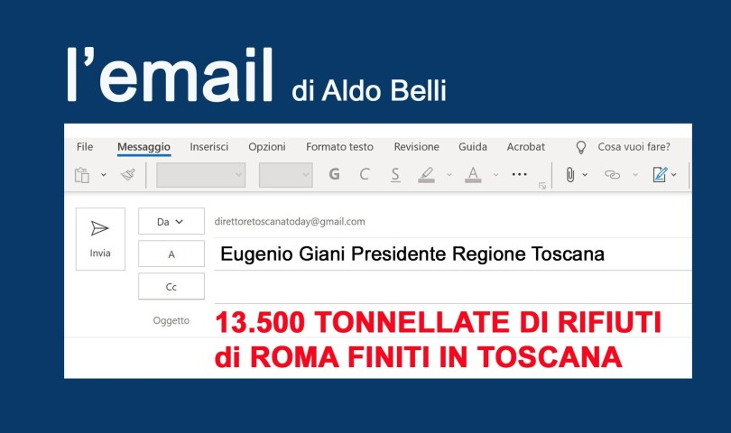 l'email - A Eugenio Giani