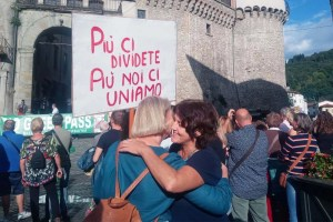 Castelnuovo Garfagnana, No Gren Pass 18 settembre 2021