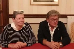 La prof. Rigoletta Vincenti e il prof. Gianfranco Sevieri