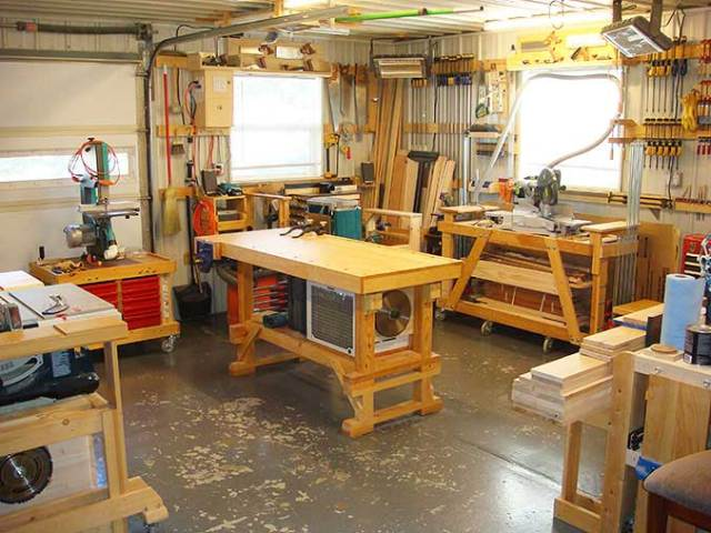 Contentment by design - A contented woodworker
