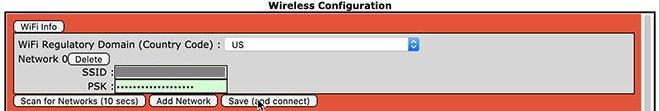 WiFi configuration 3