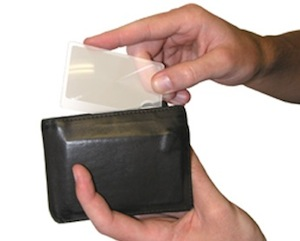 Wallet Magnifier Twin Pack