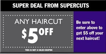 Super Cuts New 5 Printable Coupon To Simply Inspire