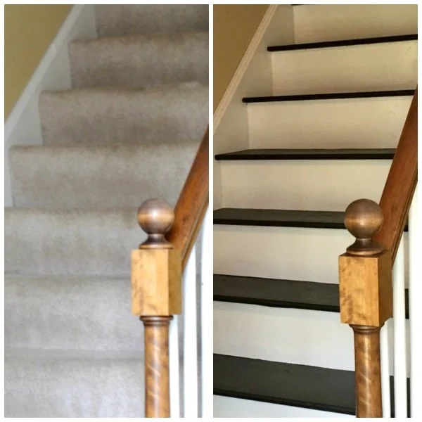 How To Remove Carpet From Stairs And Paint Them | Carpet For Stairs Near Me | Hardwood | Wood | Wall Carpet | Carpet Workroom | Runner