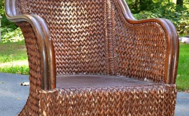 All-Weather Wicker for Conversation Set Repair-70m Gradient Brown Rattan for Outdoor Patio Furniture Weaving Tool)for Coffee Wicker Table and Chair Repair Kit(Wicker 220 ft