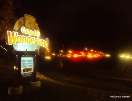 Toronto Series Part 2: Canada's Wonderland – on Halloween