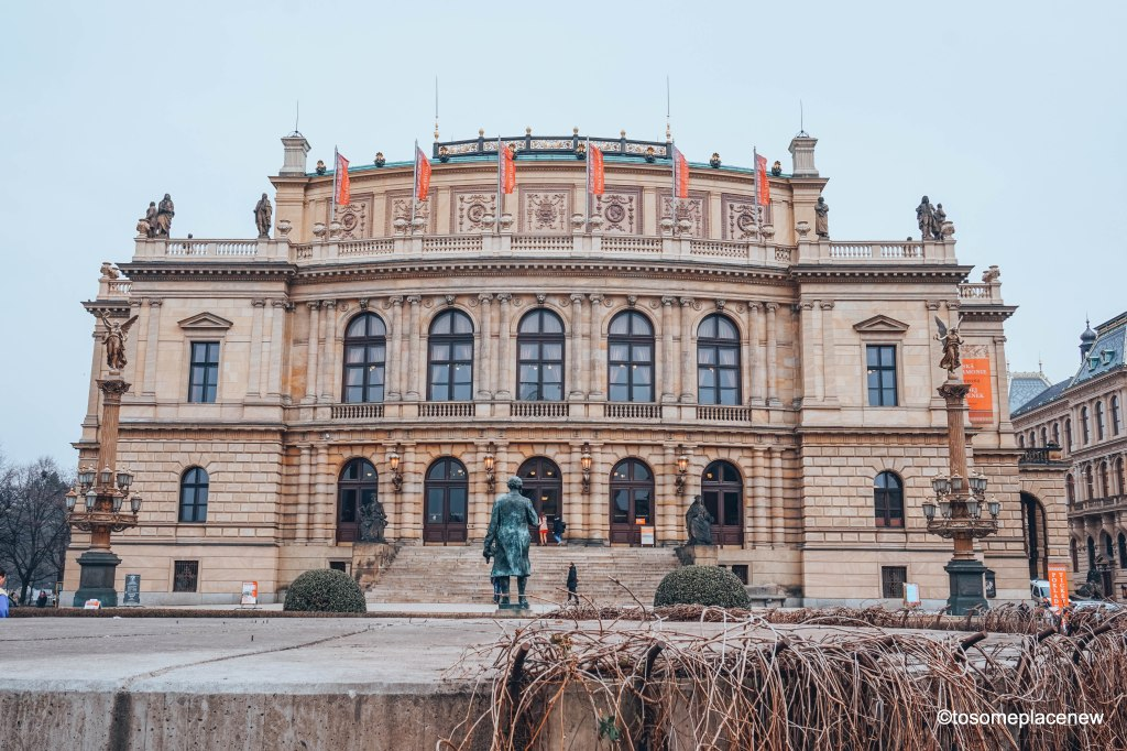 Prague State Opera House, also known as the German Theatre, located on Prague 1, just outside of Old Town Square Prague #praga