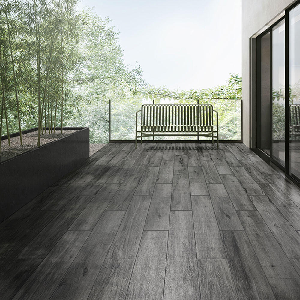 aspenwood dark grey tile 200mm x 1200mm
