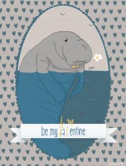 Be my Lamentine | San Lamentino illustrazione di tostoini