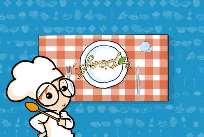 Illustration by Tostoini for WORLD Food - educational kids app