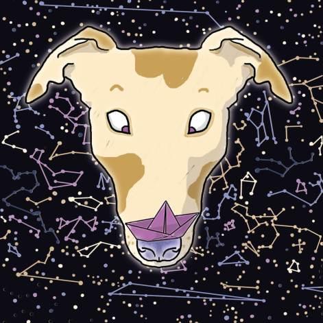 space greyhound illustration tostoini