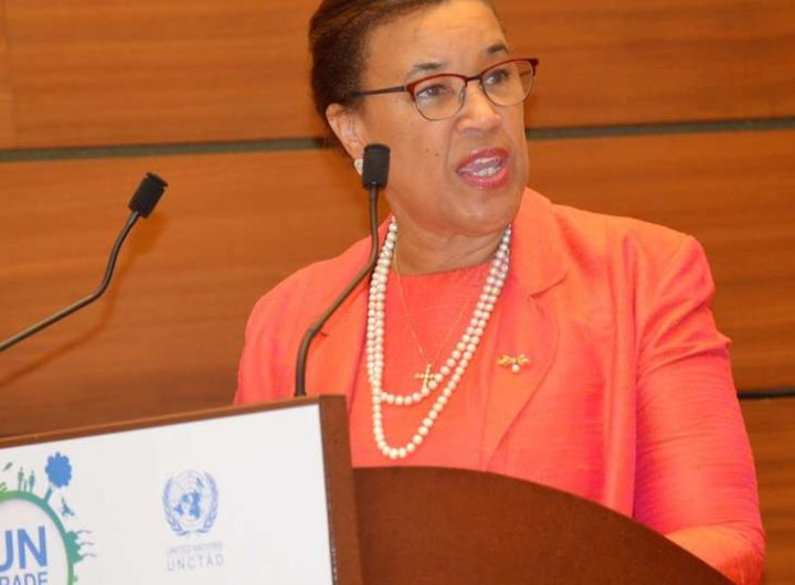 PATRICIA SCOTLAND, The Commonwealth Secretary General. Courtesy of Commonwealth Secretariate