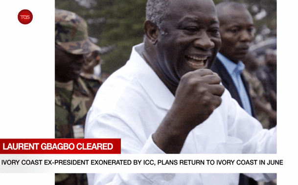Africa Now   Ivory Coast Ex -President Exonerated By ICC, Plans Return To Ivory Coast In June.