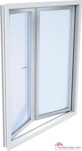 Veendam dubbele deur