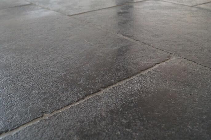 Castle Stone Zwart vloertegels va  2395 pm2  Totaaltegel