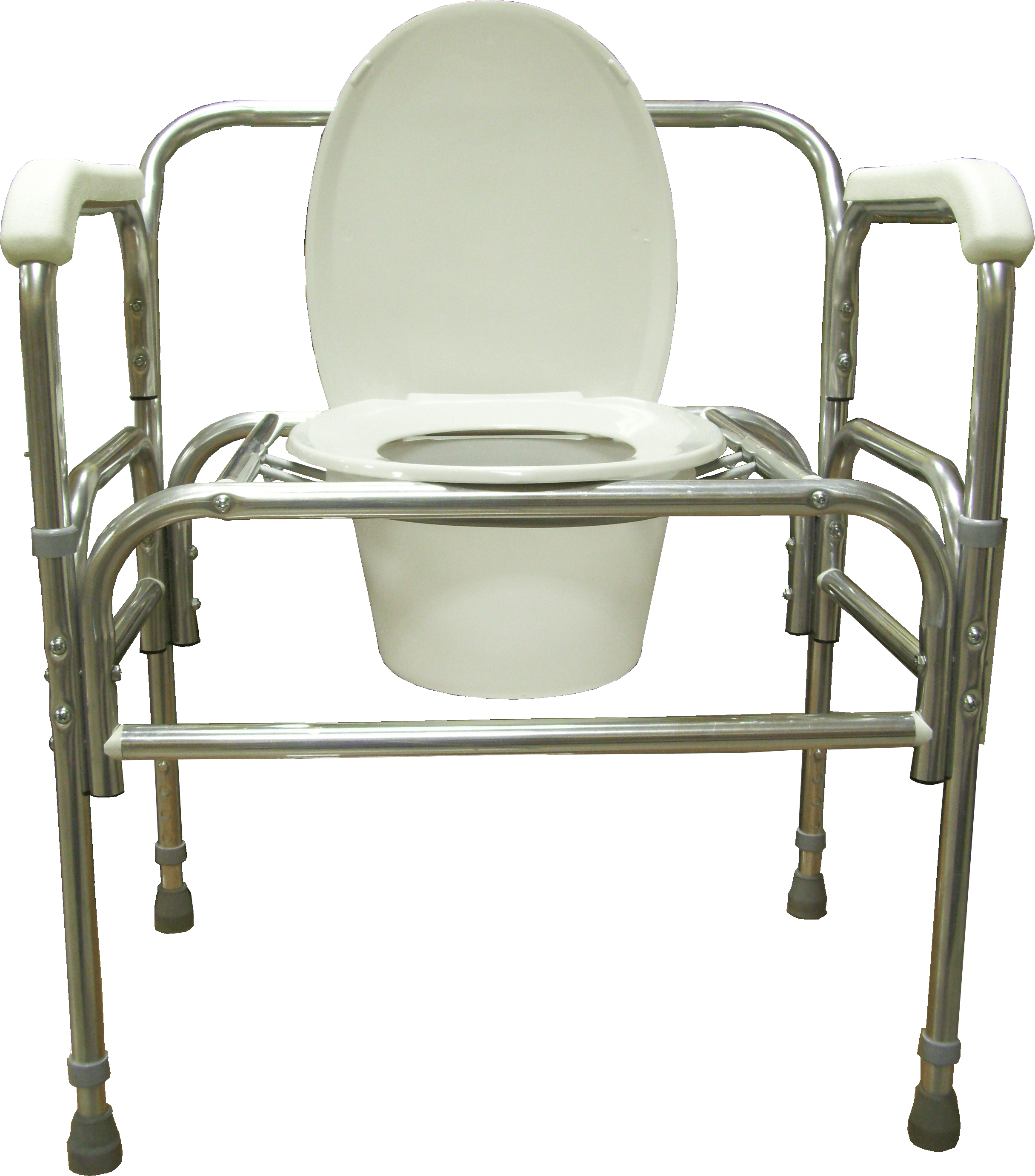bariatric transport chair 24 seat slim reclining chairs model 724a bedside commodes adjustable height