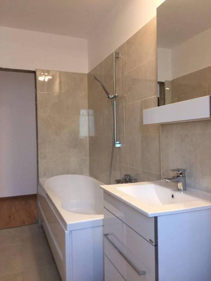 modificare apartament 2 camere - Cele mai frumoase bai amenajate de firma Total Design - Renovari Bucuresti
