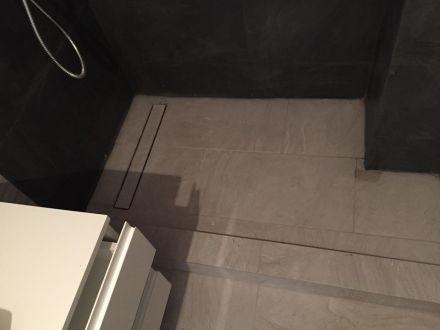 montat rigola amenajare baie