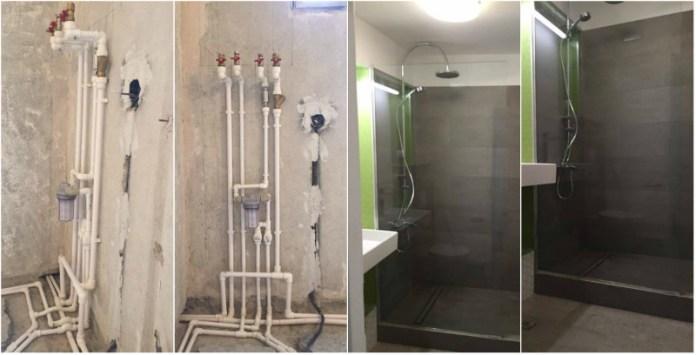 schimbarea instalatiilor sanitare
