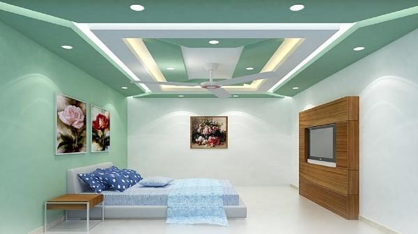 tavan fals in dormitor - Ce trebuie sa stii atunci cand alegi tavanul fals - Renovari apartamente