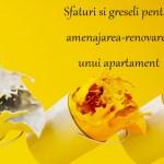 Care sunt preturile si termenele de executie pentu renovarea unui apartament
