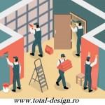 Firma renovare,amenajare apartament 2,3,4 camere