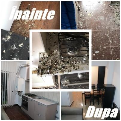 Servicii complete de curatenie pentru apartamente si garsoniere