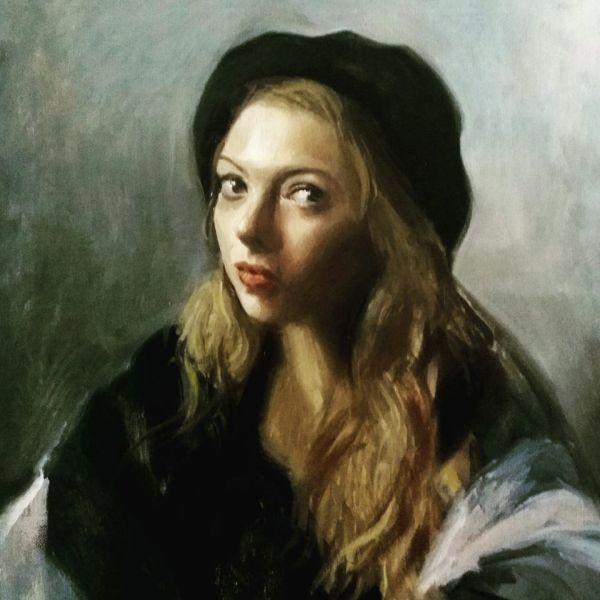 Meet Vladimir Jovievi Montenegrin Painter In Florence