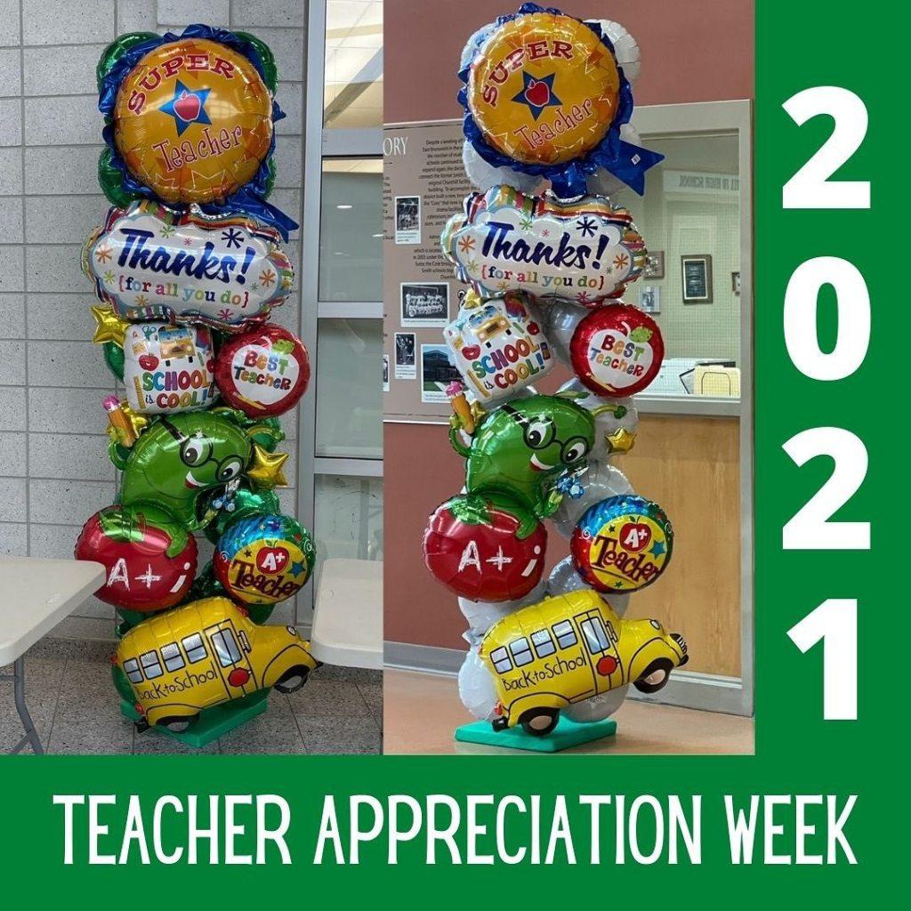 Thank you Teachers for all you do! #teacherappreciation #ebschoolsstrong #eastbrunswicknj #balloonsbytotalparty