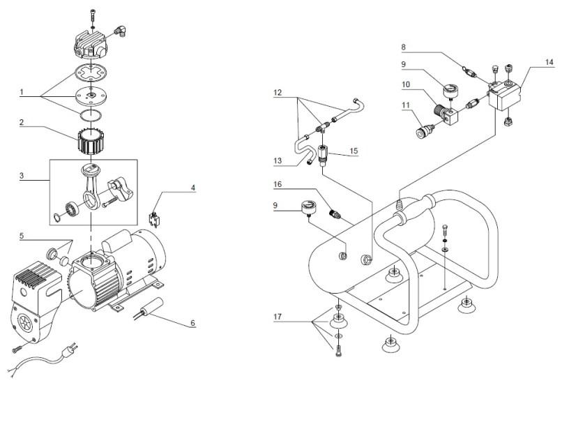 Air Compressor Parts And Accessories