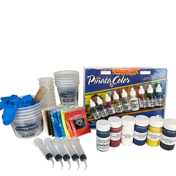 Epoxy Pigments Project Kit