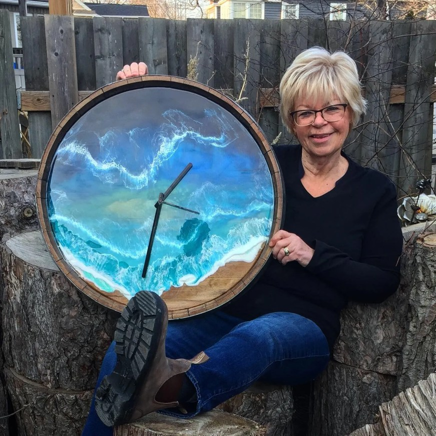 Lorrie Nowlan: Winner of the Epoxy Artist's Challenge