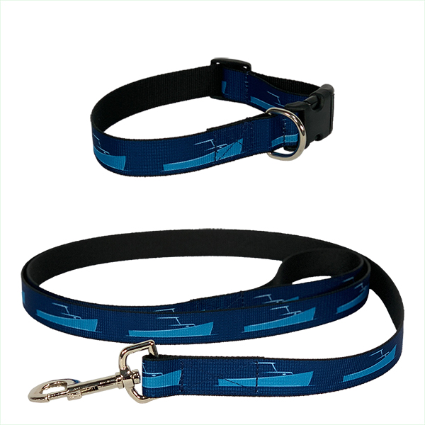Flexible Nylon Web Dog Collar and Leash