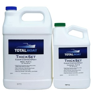 ThickSet Deep Pour Clear Casting Epoxy