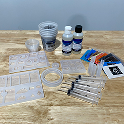 TotalBoat Jewelry Kit - Step 1: Lay Out Your Materials and Jewelry Molds