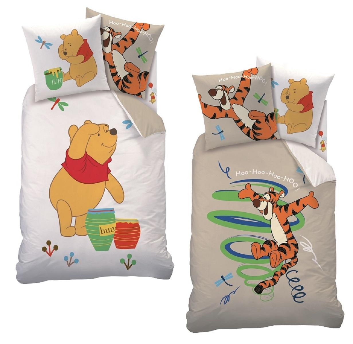 Parure de lit Winnie L Ourson